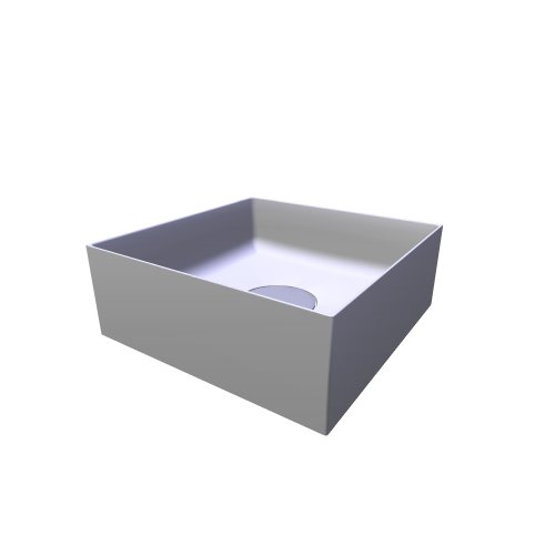 F70024 thin square washbasin