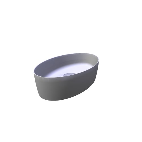 F70028 thin oval washbasin
