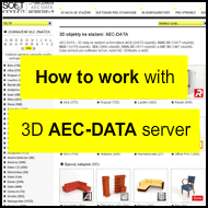Video - How to download 3D models from the AEC-DATA server